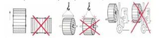 Kablo makarasının taşınma yöntemleri