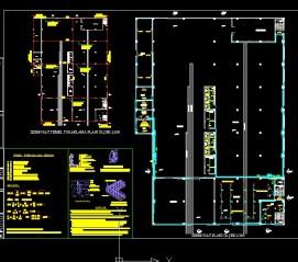 Pcsitemiz Fabrika Aydınlatma kuvvet Elektrik Proje Autocad çizim