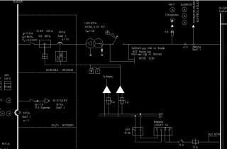Pcsitemiz Orta Gerilim OG tek hat şema çizim Elektrik Proje