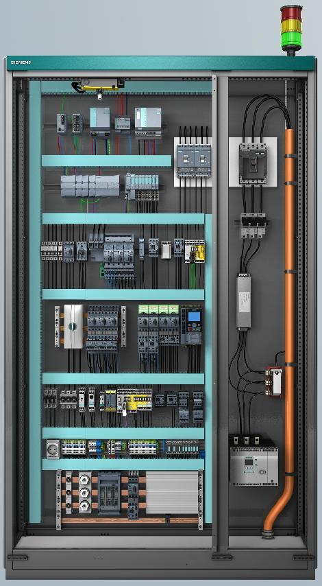 elektrik kontrol kabin siemes